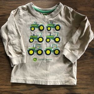 John Deere toddler shirt